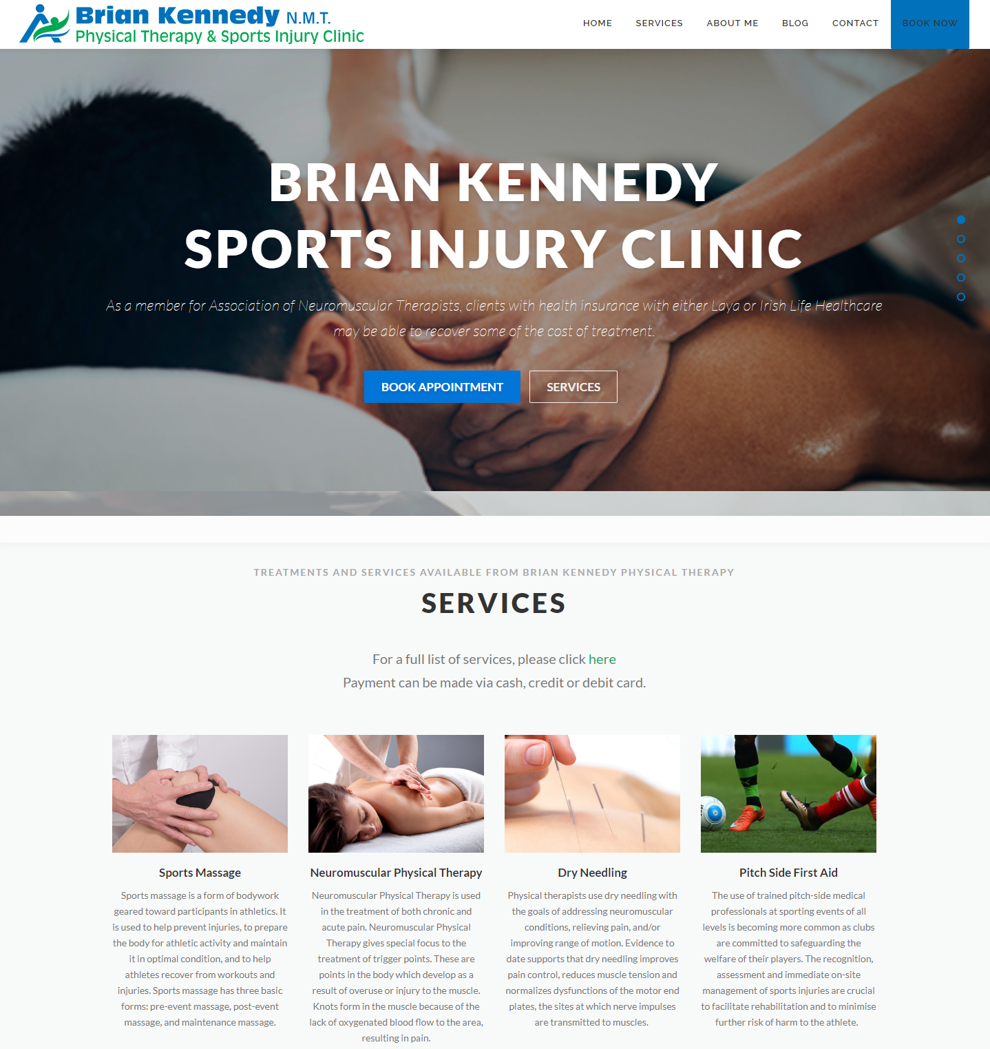 brian kennedy physical therapy